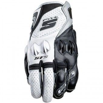 Gants Moto Five SF1 White Grey
