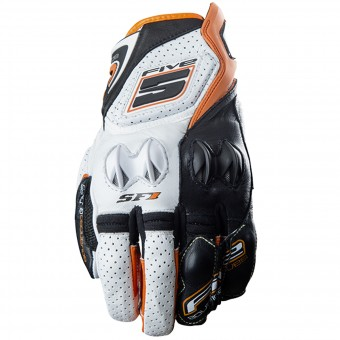 Gants Moto Five SF1 White Orange