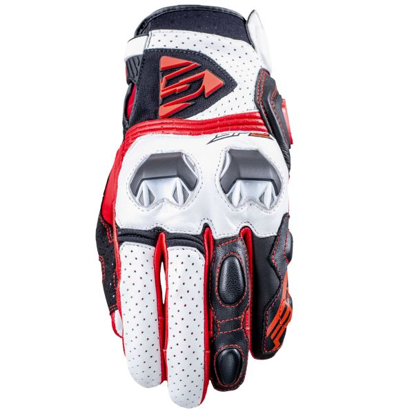 Gants Moto Five SF2 White Red