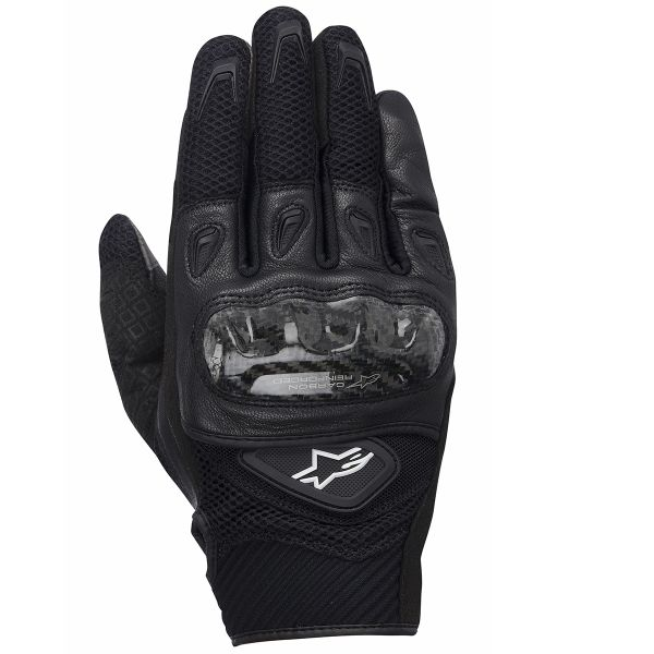 Gants Moto Alpinestars SMX-2 Air Carbon Black