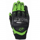 Gants Moto Alpinestars SMX-2 Air Carbon Green Black