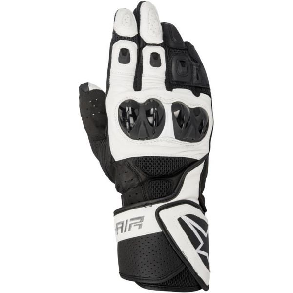 Gants Moto Alpinestars SP Air Black White
