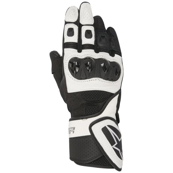 Gants Moto Alpinestars Stella SP Air Black White