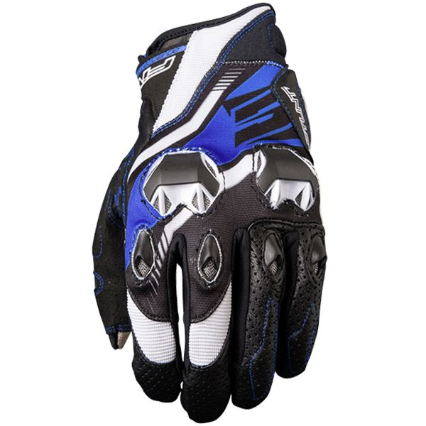 Gants Moto Five Stunt Evo Replica Icon Blue