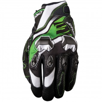 Gants Moto Five Stunt Evo Replica Icon Green