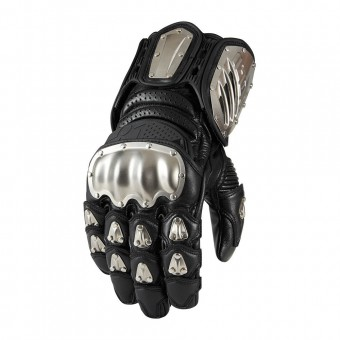 Gants Moto ICON Timax Long Black
