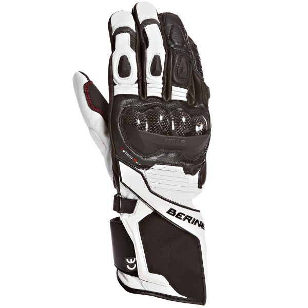 Gants Moto Bering VX1 Evo Black White