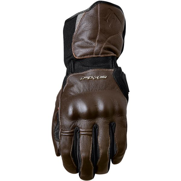 Gants Moto Five WFX Skin WP Brown