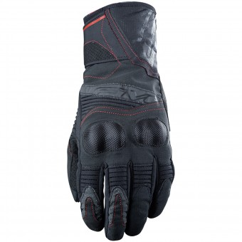 Gants Moto Five WFX2 WP Black Red