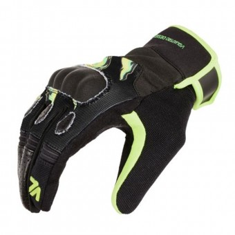 Gants Moto V'Quattro Wild Black Green