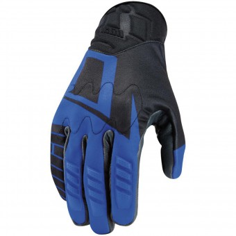 Gants Moto ICON Wireform Glove Blue