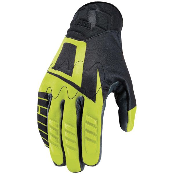 Gants Moto ICON Wireform Glove Hi-Viz