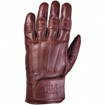 Gants Moto Ride & Sons Worker Oxblood