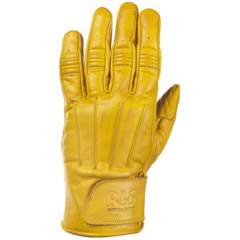 Gants Moto Ride & Sons Worker Yellow