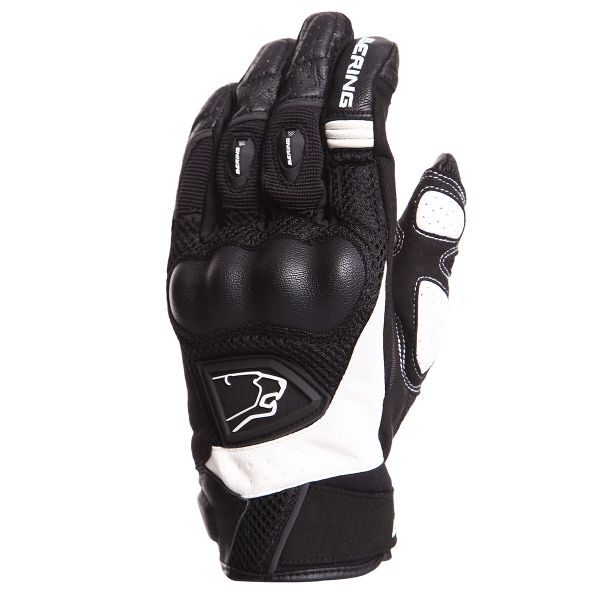 Gants Moto Bering Zeff Black White