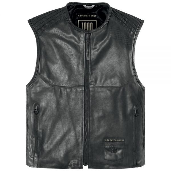 Gilet Moto ICON Associate Vest Pursuit Black