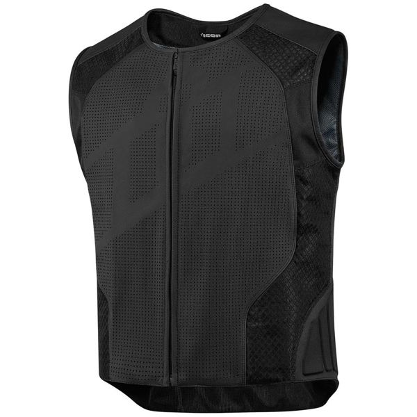 Gilet Moto ICON Hypersport Stripped Black
