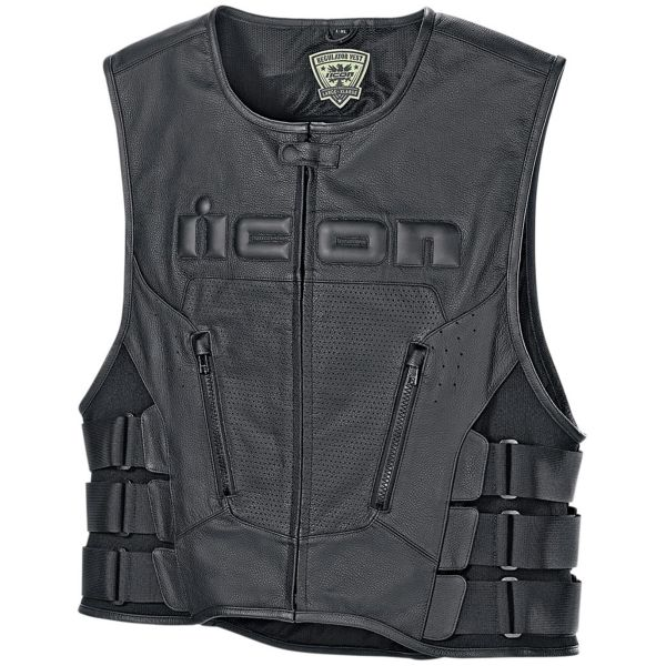 Gilet Moto ICON Regulator D3O Vest Black