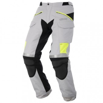 Pantalon Moto Alpinestars Calama Ice White Gray Yellow Pant