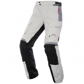Pantalon Moto Alpinestars Bogota Drystar Light Gray Black Pant
