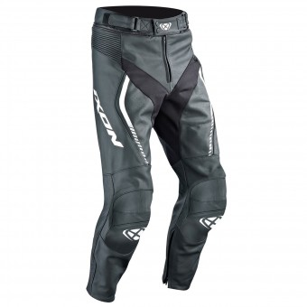 Pantalon Moto Ixon Fighter Pant Black White