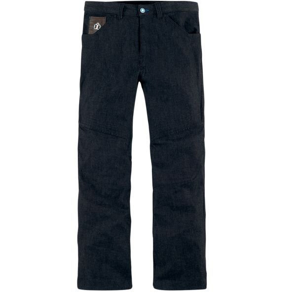 Pantalon Moto ICON Hooligan Denim Dark Blue