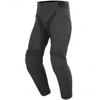 Pantalon Moto Alpinestars Jagg Leather Black Black