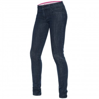 Pantalon Moto Dainese Jessville Lady Denim Stone Washed