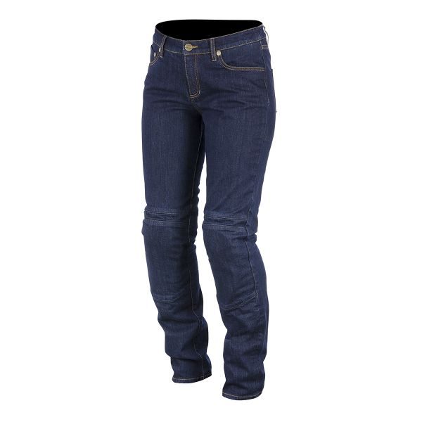 Pantalon Moto Alpinestars Kerry Tech Denim Bleu