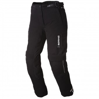 Pantalon Moto Bering Lady Safari Black White Pant
