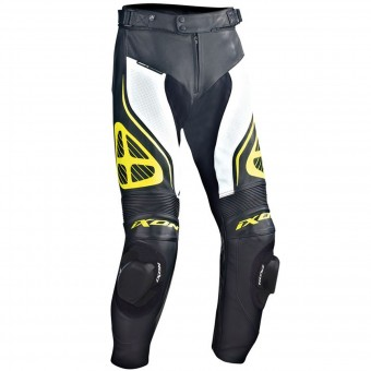 Pantalon Moto Ixon Orcus Pant Black White Yellow