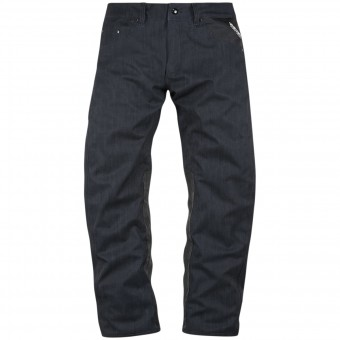 Pantalon Moto ICON Raiden UX Waterproof Pant Denim