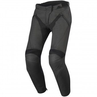 Pantalon Moto Alpinestars Stella Jagg Leather Black Black