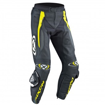 Pantalon Moto Ixon Vortex Pant Black Grey Yellow
