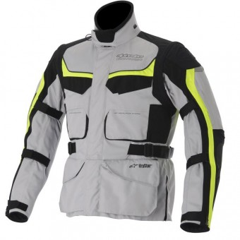 Blouson Moto Alpinestars Calama Ice White Gray Yellow