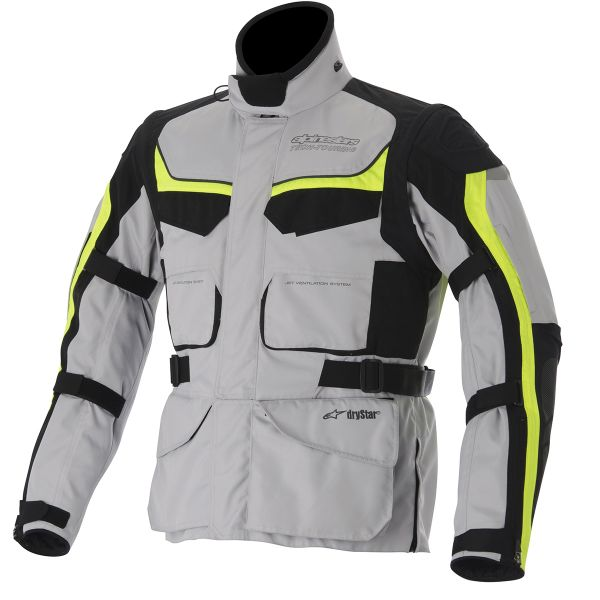 Veste Moto Alpinestars Calama Ice White Gray Yellow