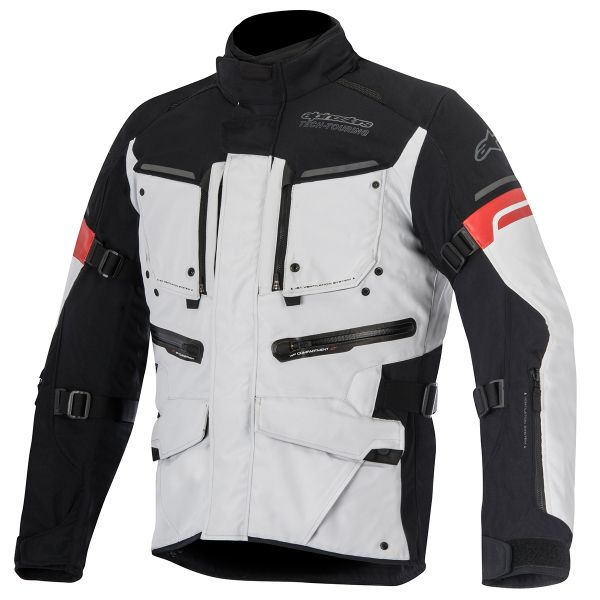 Blouson Moto Alpinestars Valparaiso 2 Light Gray