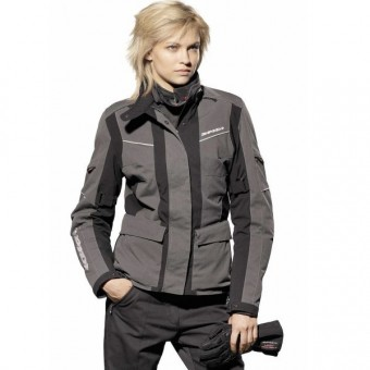 Blouson Moto Spidi Venture H2out Lady Noir/Antracite