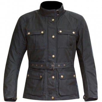 Veste Moto Merlin Ashley Wax Lady Black