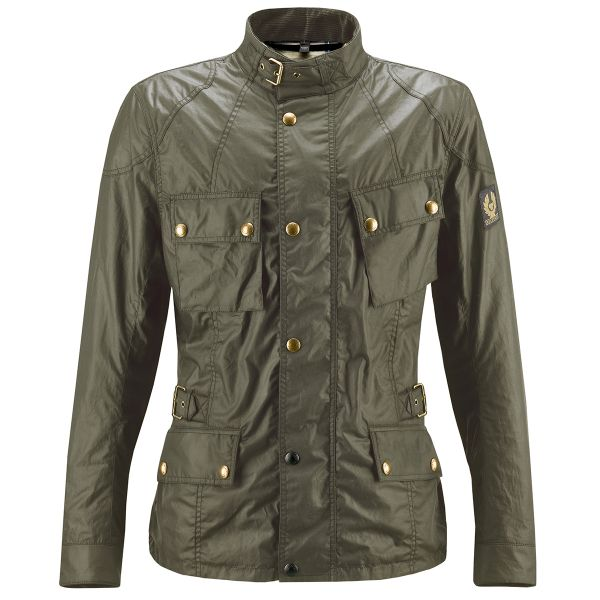 Veste Moto Belstaff Crosby British Green