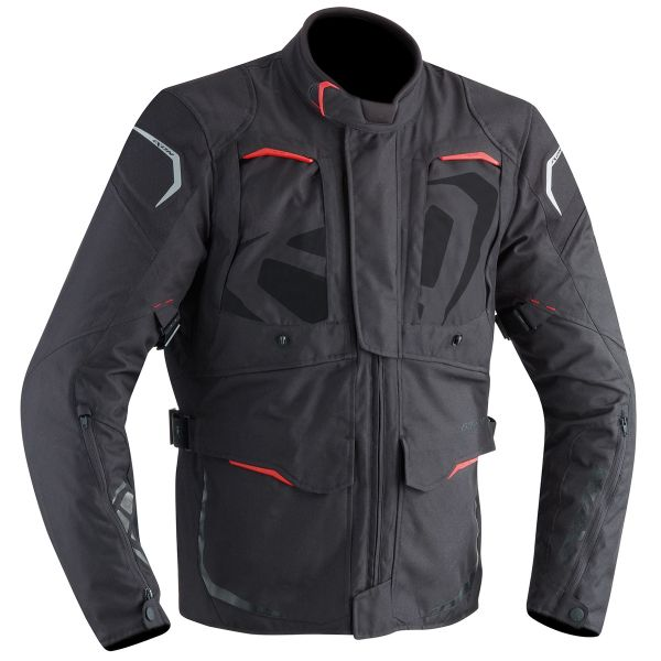 Veste Moto Ixon Cross Air Black