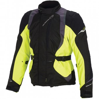 Veste Moto Macna Escape Jacket Neon Yellow