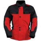 Veste Moto IXS Explorer Jacket II Black Red Kid
