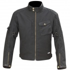 Blouson Moto Merlin Hamstall Wax Cotton Black