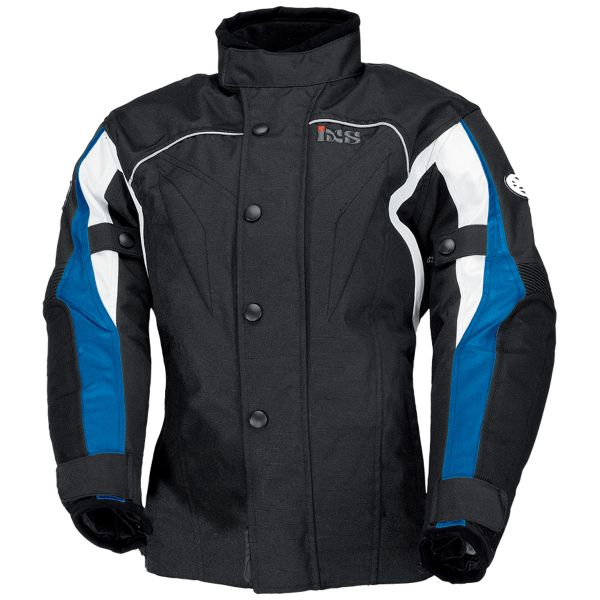 Veste Moto IXS Jamie II Black Blue White Kid