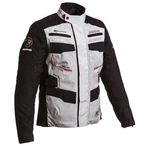 Veste Moto Bering Shield Gore-Tex Black Grey