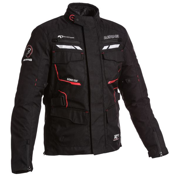 Blouson Moto Bering Shield Gore-Tex Black