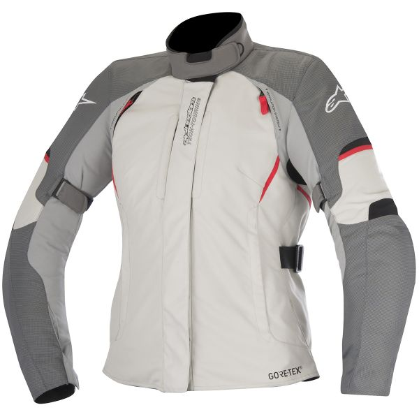 Blouson Moto Alpinestars Stella Ares Gore-Tex Light Grey