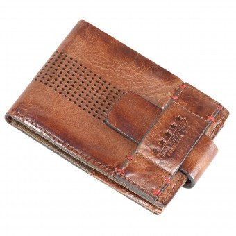 Cadeaux ICON 1000 Leather Wallet Brown