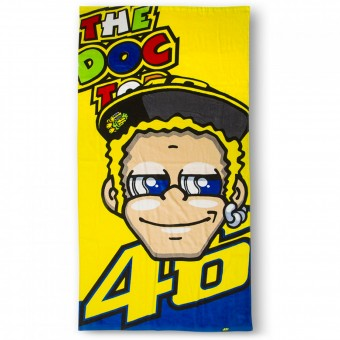 Cadeaux VR 46 Beach Towel The Doctor VR46